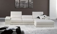 best leather sofa - Modern French Design Genuine Leather L Shaped Corner Sofa Best living room the sofa LA066
