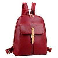 Backpack Style beauty colleges - KAT Fashion Metal Arrows College Students Schoolbag Beauty Women Backpack Bag Women Mochila Bolsa Bag