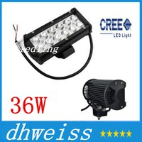 Wholesale 2pcs Waterproof Aluminium Inch W Cree LED Work Light Bar LM Spot Beam ALL Cars x4 Off Road Lamp hours Life