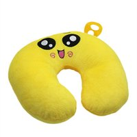 airplane neck rest - CoolMall Travel U Rest Neck Pillow Cartoon Soft Car Airplane Neck Cushion Protect