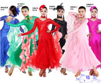 Wholesale 2016 New Arrival Women Ballroom Dance Dress Lady Clothing For Tangowaltz Ballroom Dancing Dresses Competition Modern Dance Skirt