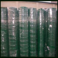 Wholesale 50mm Welded Wire Mesh Fence With PVC Coated Surface Treatment Hebei ISO Quality Factory Green Color