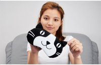 Wholesale Cartoon Funny Small Dots Sleeping Eye Mask Cute Anti Snoring Blindfold Sleeping Shade Cotton Cover Blinder Blindfold Hot Sales
