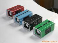 Wholesale Supply U disk SD card speaker mini SD card speaker card reader speaker Figure
