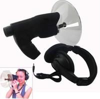 Venta caliente del oído biónico espía del vigilante de pájaro 100 metros de distancia de sonido con auriculares calidad mini Bird Watchers envío libre