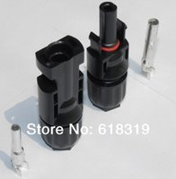 Wholesale 25 years quality warranty pairs TUV IP67 PV MC4 MC4 Solar cell connector by post