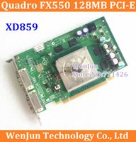 Wholesale Original DirectX c Quadro Level Low end XG859 Quadro FX550 MB PCI E Video Card Dual DVI PCI Express by HK Post order lt no track