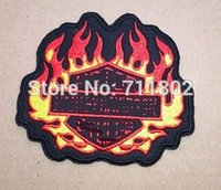 Crystal patch big lots clearance - Big clearance sale Flame badge psg iron On Patches Made of Cloth patch Embroidered Applique