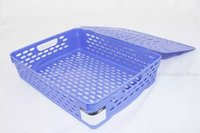 basket file boxes - Deli Plastic Stationery Holder School and Office Supplies File Box Document Basket Storage Box Office Racks Desk Accessories