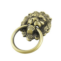 antique ring pulls - IMC New Antique Style Bronze Tone Lion Head Design Drawer Ring Pull Handle Knob order lt no track