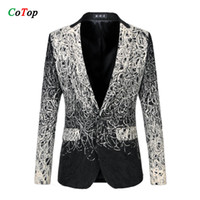 autumn dishes - Plus Size M XL Casual Men Blazers Brand Designer Autumn Fashion Business Dress Clothing High Quality Dish Silk Suit Jacket