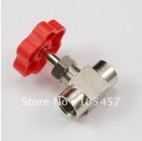 Wholesale 10pcs Nickel Plated Brass quot BSPP Female Threaded Needle Valve directly from manufacturer order lt no track