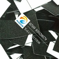 Wholesale Processing adhesive Velcro electronics factory from felt special adhesive stickers Velcro buckle cloth