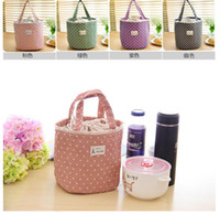 Wholesale Picnic Pouch handbags Lunch Container Thermal Insulated Cooler Bag Lunch Box Tote Portable lunch bags for Women