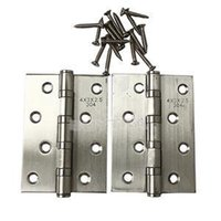 Wholesale 2014 New No Noise Stainless Steel timber Door Hinges X X INCH Brand Ball Bearing Hinge Description