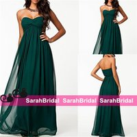 affordable maternity wedding gowns - 2015 Emerald Green Long Maxi Full Length Wedding Evening Dresses Affordable Cheap Sweetheart Empire Pregnant Prom Party Gowns Formal Wear
