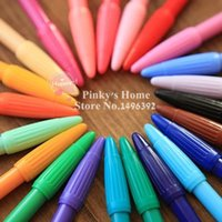 Wholesale Colors mm Gel Pen Stationery Office School Supplies Korean Gel Pen Set Writing pen