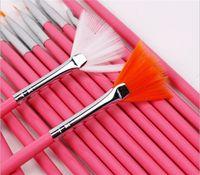 Wholesale Hot Sale Nail Art UV Gel Design Pen Painting Brush Set for Salon Manicure Tips Tool