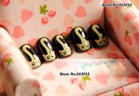 acrylic nails feet - x Cat Face Foot Girl Acrylic Pre Designed False Fake Nail Tips Short Z022