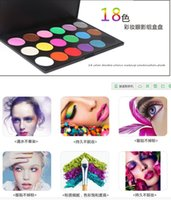 Cheap 2015 Hot sale 18color beauty makeup eye shadow women cosmetics eyeshadow naked palette paletas kit maquiagem professional brand tools 48sets