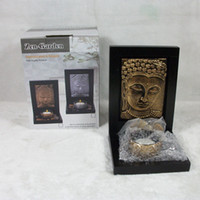 Wholesale FH03 with aromatherapy candle candelabra Buddha Buddhist supplies fine jewelry supply