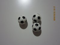 Wholesale plastic balls with soccer logo for pinball machine for world cup or