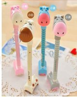 Notes bedroom things - Cute Standing Little Donkey Creative Stationery Kids Modelling Toy Fever Children s Classroom Thing Bedroom Decoration Novelty Ballpoint Pen