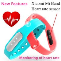 band features - New Features Original Xiaomi Mi Band s Heart Rate Sensor Smart Wristband Miband Bracelet For Android iOS smart band