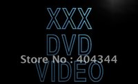 adult dvd - LB824 XXX DVD Video Adult Film Display Neon Light Sign hang sign home decor shop crafts led sign