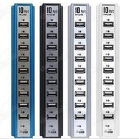 Wholesale New Port High Speed USB Hub Expansion Power Adapter for Notebook PC Mobile