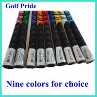golf grip - 2015 Hot Sale Golf Pride Golf grips For Golf Driver Grips or Golf Irons Grips new model golf clubs golf rubbers colors Mix Color