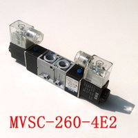 Wholesale MVSC E2 Pneumatic Solenoid Valve Position Way AC110V DC12V DC24V AC24V AC220V AC380V