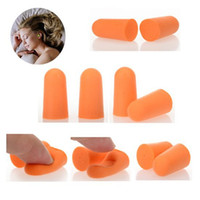 Wholesale 50Pairs Brand New Foam Sponge Earplug Ear Plug Keeper Protector Travel Sleep Noise Reducer HZTJ0005