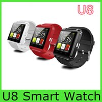 smart watch - Bluetooth Smartwatch U8 U Watch Smart Watch Wrist Watches for iPhone S S Samsung S4 S5 Note Note HTC Android Phone Smartphones pc