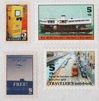 Wholesale Vintage Travel stamp sticker sellos clear stamps scrapbooking sellos vintage sello carimbo Z917 ship