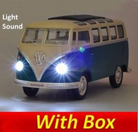 Wholesale volkswagen VW Mini bus Alloy Diecast Models Car Toy Collection For Boy Children As Gift brinquedos meninas