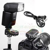Wholesale PT GY Channels Wireless Radio Flash Trigger SET with Receivers for canon nikon d d3100 d7000 d90 d