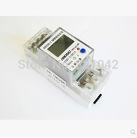 Wholesale DDS238 SW A V HZ Single phase Din rail KWH Watt hour din rail energy meter LCD