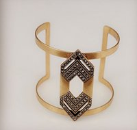 big amps - Fashion Jewelry Amp Bangles Hollow Gold Plate Big Cuff Indian Bangle Bracelets For Women