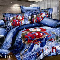 duvet cover - New Arrival Cotton Bedding Sets High Quality Duvet Cover Sets fit for Christmas for Sale AQ02