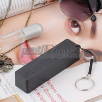 Wholesale 1Pcs Mobile Power Bank Key Chain USB Battery Charger for iPhone for HTC for Samsung for MP3