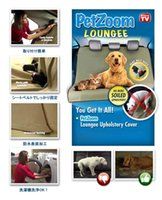Wholesale 2014 New PetZoom Pet Seat Cover Waterproof Seat Belt Slits Pet Seat Cover Auto Pet Seat