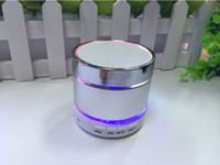 bass products - Hot Newest Product LED Speaker S09 Enhanced Speaker LED Light Ring Super Bass Metal Mini Portable Beat Hi Fi Bluetooth Handfree