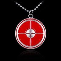 Wholesale Eagle Eye Necklace The Avengers Oil Drop Pendant Necklace Low Price B8