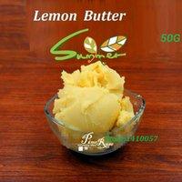 Cheap Wholesale-Lemon Butter Pure Essential Oil   Lemon Butter 50g Base Oil Lip Materials 50g Hot Sale 2015