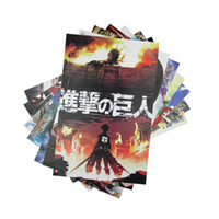 attack on titan poster - Attack on Titan Emboss posters Card set giant anime