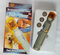 Wholesale Electric Pet Supplies Paws Nail File Trimmer Replacement Heads Pedipaws