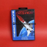 Wholesale DC MD SS SEGA Memery Cards Gleylancer bit MD Game Card With Retail Box For Sega Mega Drive