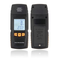 Wholesale 1pcs Hot Handheld Carbon Monoxide CO Monitor Detector Meter Tester ppm GM8805