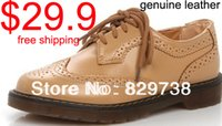 Wholesale High quality oxfords for women leather british style lady s fashion casual shoes size35 colors